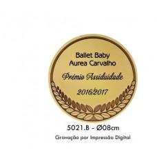 MEDALHÃO + ESTOJO REF. 5021B